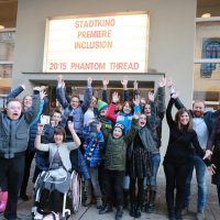 Inclusion film premiere sonderschule lienz gruppenfoto